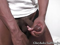 Big black cocks and white hands go together like peanut butter and jelly.