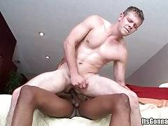 Black Dude Smashes White Guy`s Tight Butt 3