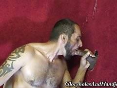 White daddy slut gets niggahs thick-milk spew